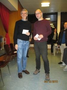 2.-3. Platz: Klaus-Günther Besenthal (l.) und Lutz Franke
