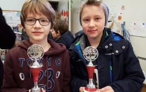 Sieger-Duo Theo (l.) und Lino